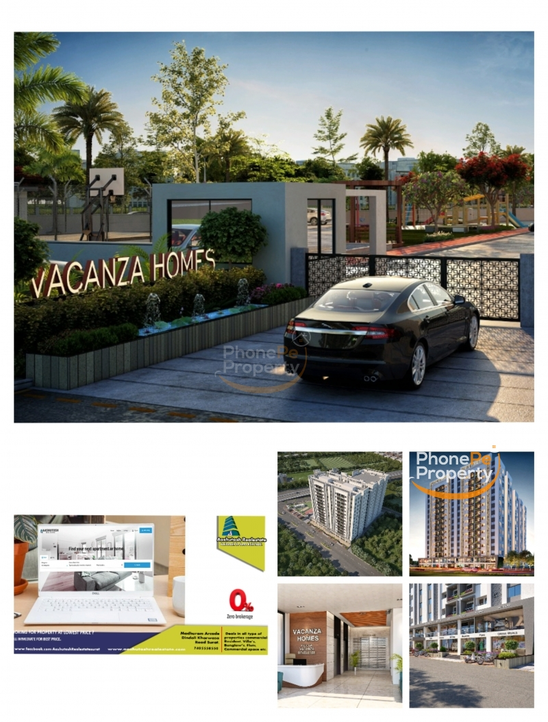 2 BHK FLAT FOR SELL IN ALTHAN.