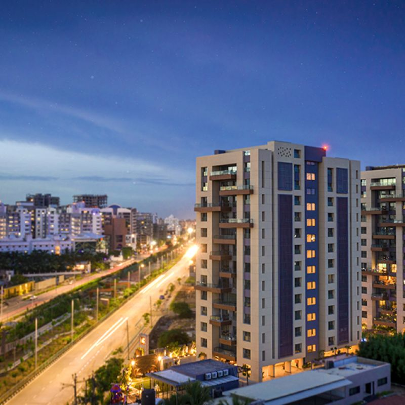 sangini terezza 4BHK Flat for sell in vesu